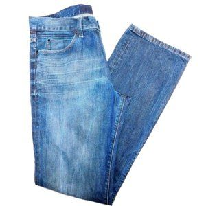 Express Straight Leg Jeans Size 34x34""